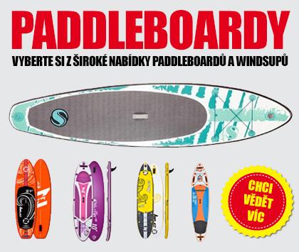 Paddleboardy, velká nabídka v Boatparku
