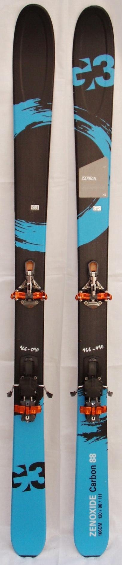 Bazar skialpových lyží