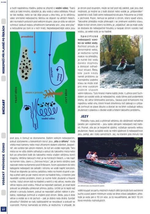 Vodácká mapa Vltavy
