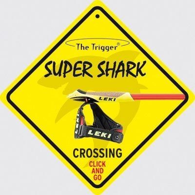 Leki Shark cruiser