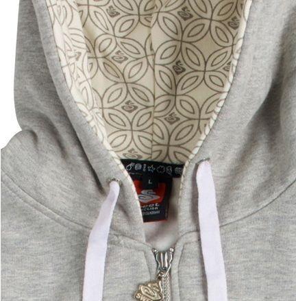 Sweet Logo zip wmn hoodie mikina