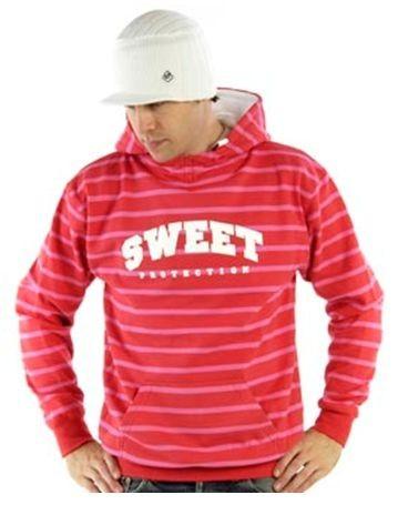 Sweet Stripe pink mikina