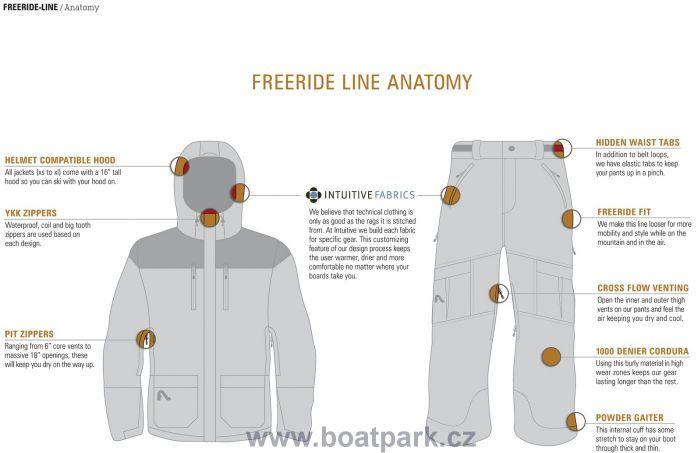 Flylow B.A. Puffy coat bunda