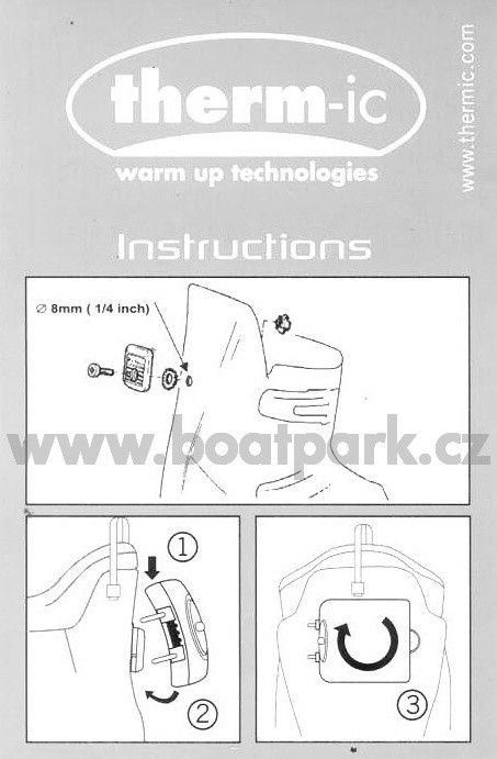 Therm-ic Skiboots adapter