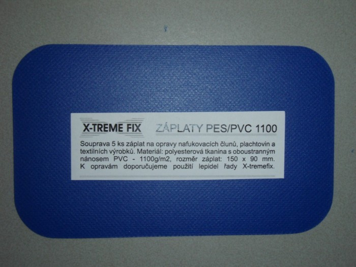X-treme fix PES/PVC 1100 záplaty