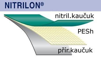 GTX nitrilon oboustranný 1cm2