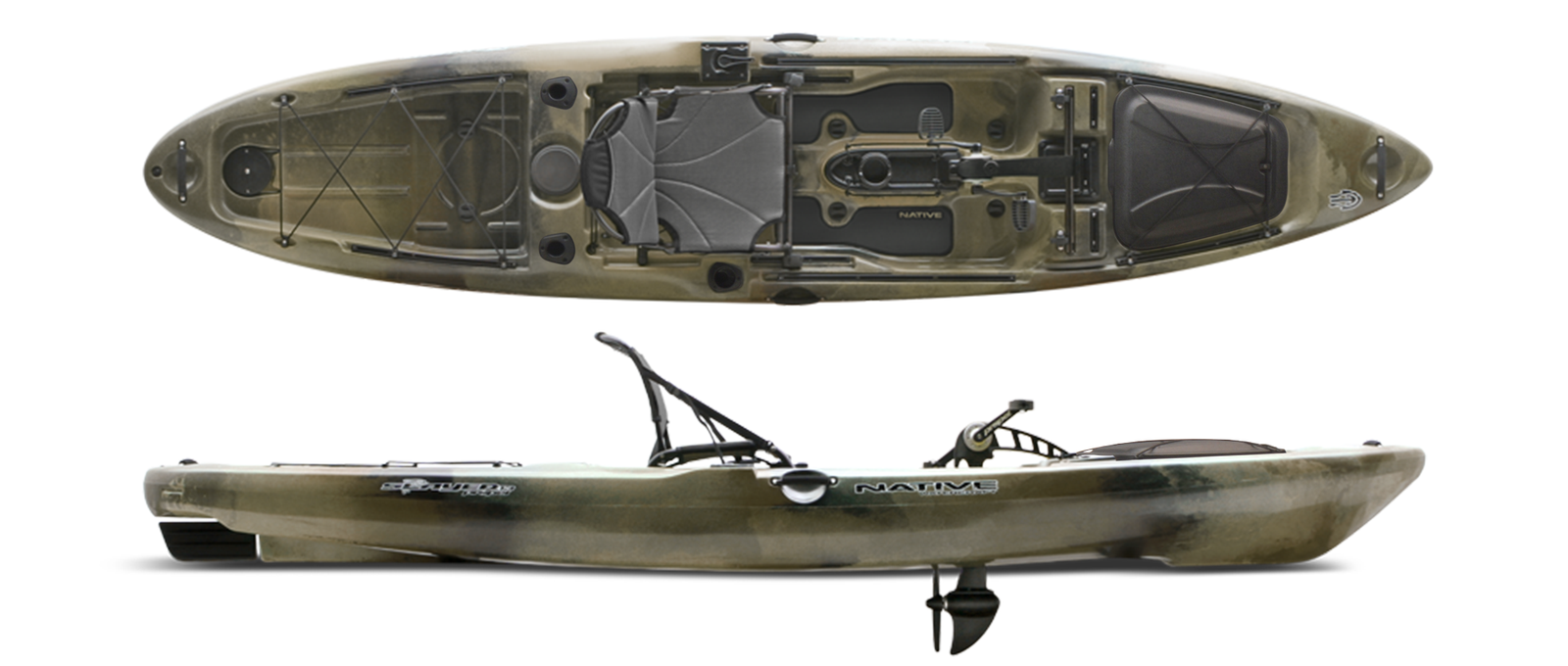 Native Watercraft Slayer Propel 13_ hidden oak