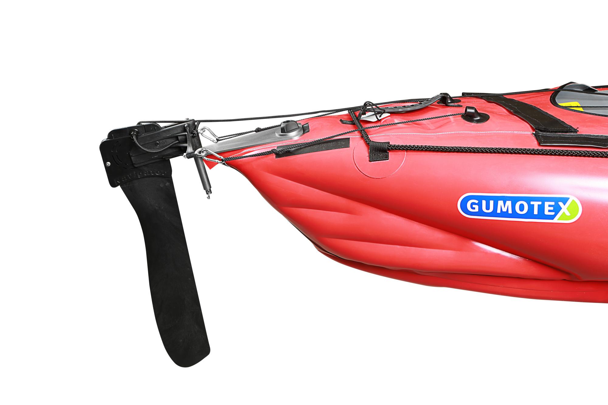Kajak Gumotex Seawave + 2 pádla + pumpa + kormidlo + zár.3 roky