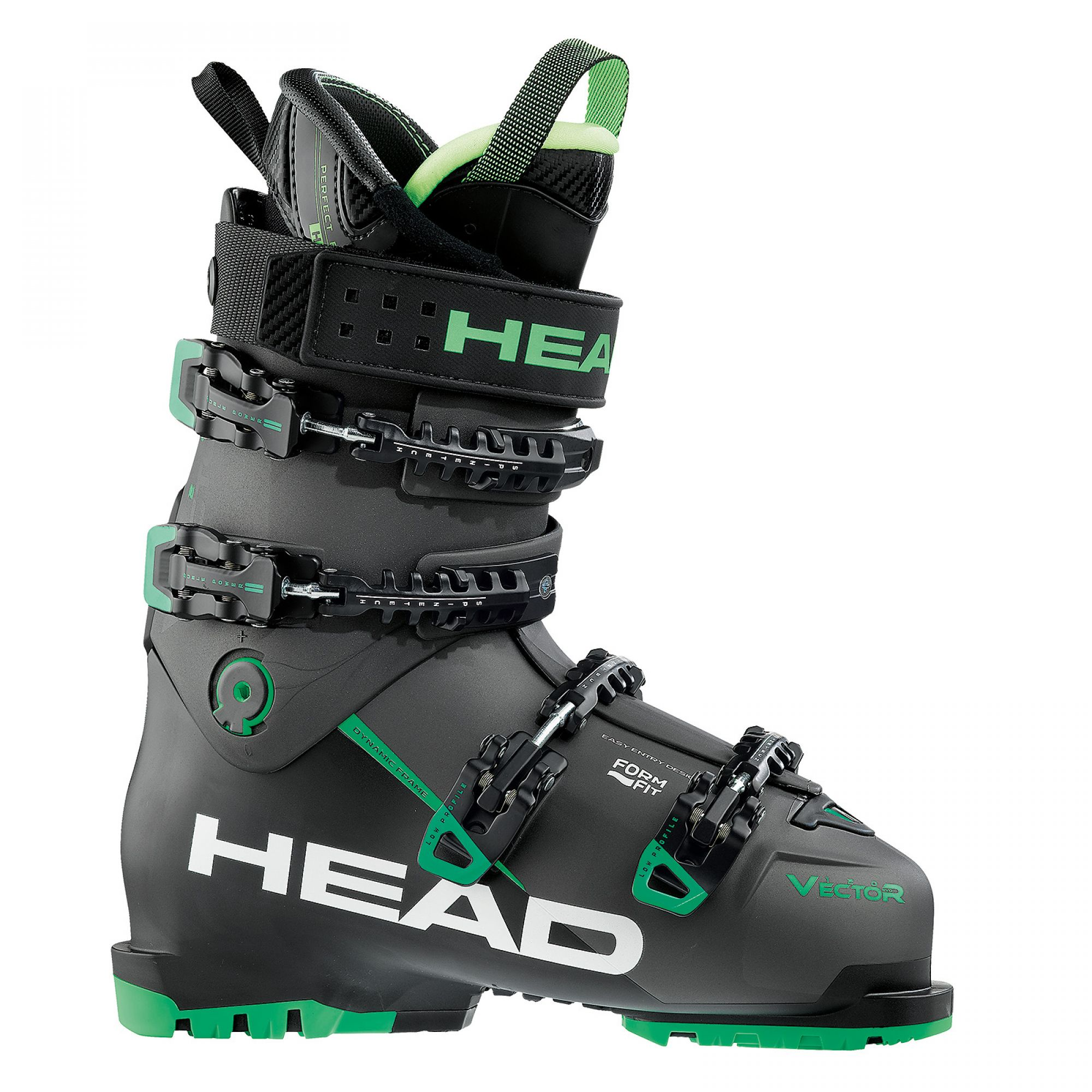 Head Vector 120S Antracite/Black-green 17/18