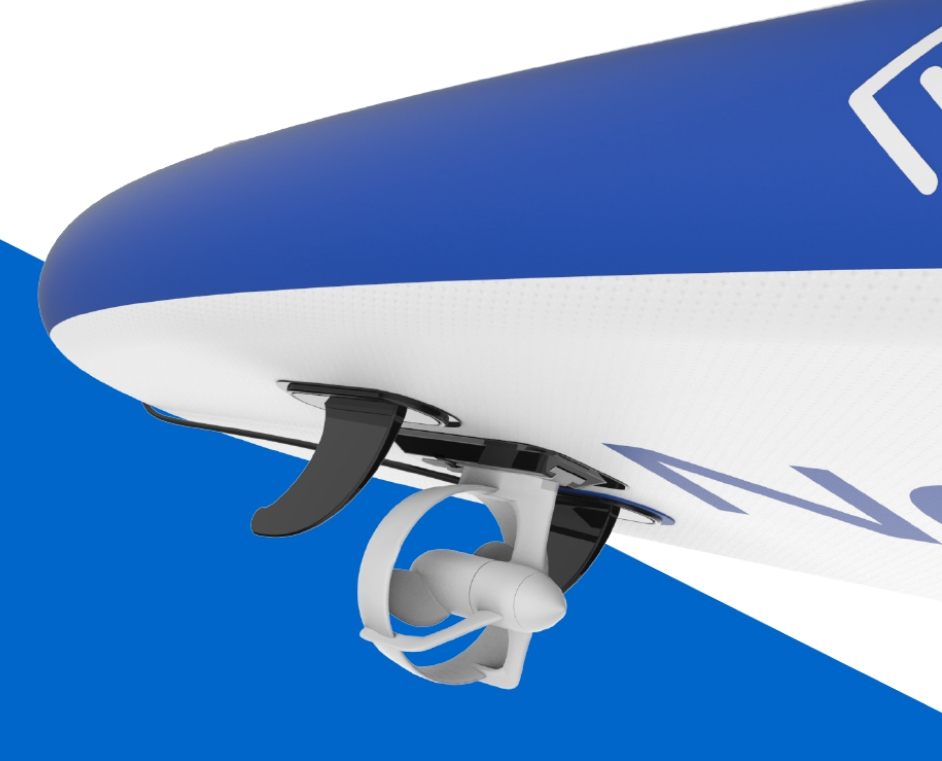 uchycení motoru Lagoon na paddleboard.jpg