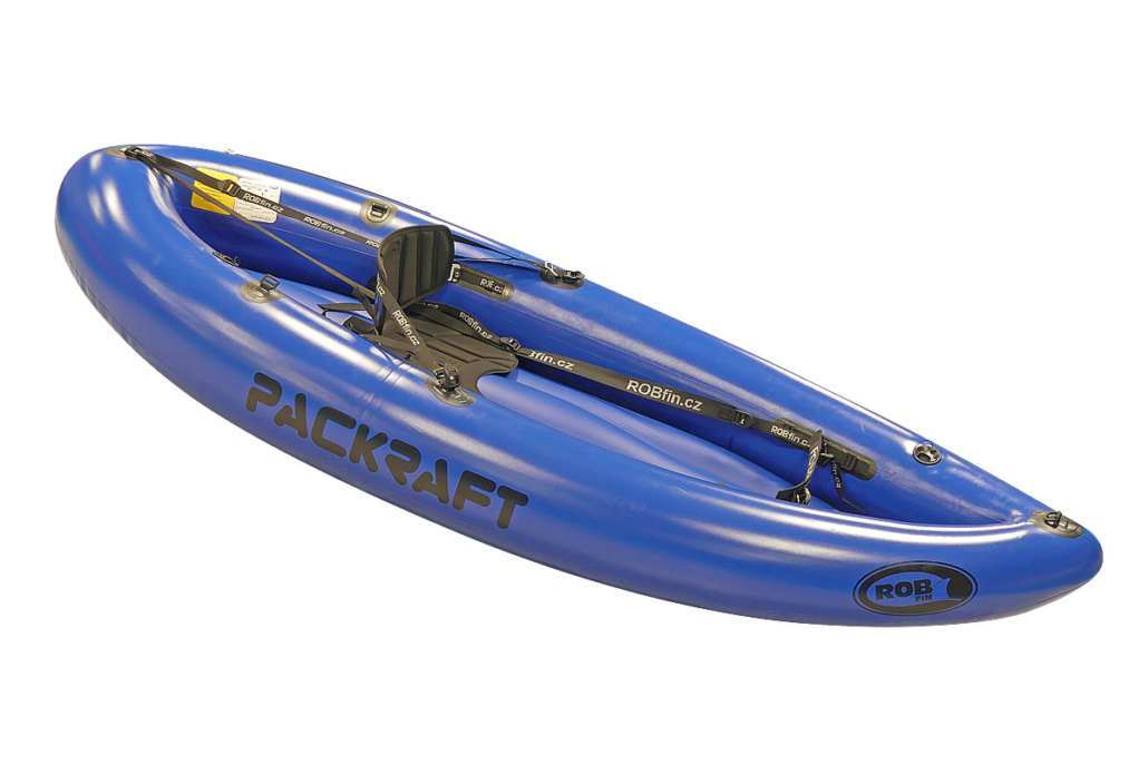 Packraft ROBfin M Sporty ECO - modrý