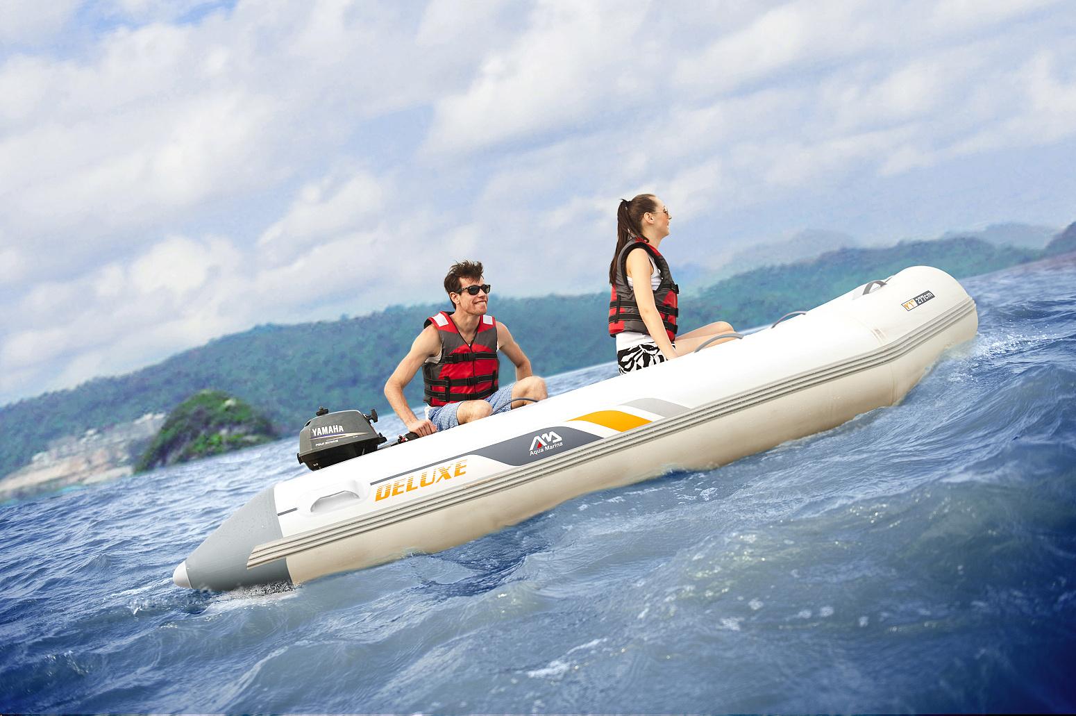 člun Aqua Marina Deluxe 2,5m v akci