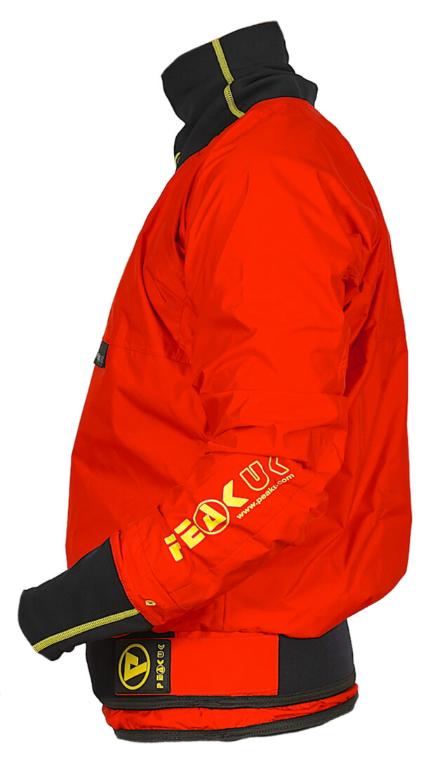 vodácká bunda peak uk semi long red