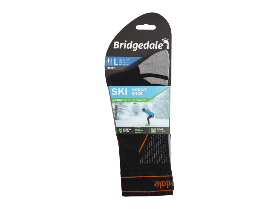 Ski ponožky Bridgedale Ski Nordic Race III.jpg