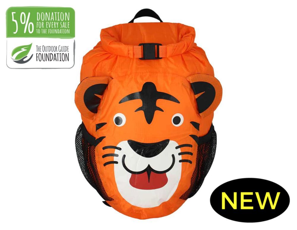 OB Kids Waterproof backpack 11 L orange.png