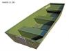 Marine Jon 10 zelená