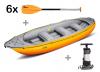 Raft Gumotex Ontario 450 S + 6 pádel + pumpa + záruka 3 roky