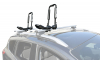 FoldAway-J™ Kayak Carrier with Tie-Downs_J-Style_Folding_Side Loading