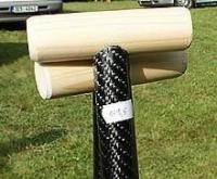 Dřevěná hlavička na pádla