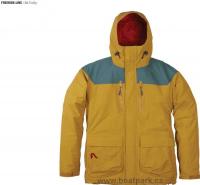Flylow B.A. Puffy coat bunda žlutá