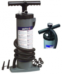 Ruční pumpa Bravo 6L s manometrem