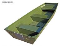 Pramice hliníková Marine Jon 10 green