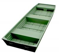 Pramice hliníková Marine Jon 14 green
