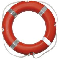 Záchranný kruh Solas 75cm s lanem