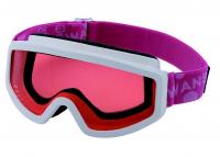Dětské lyžařské brýle Swans 101S White x Pink
