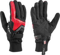 Leki Nordic Thermo Shark Black/Red/Silve