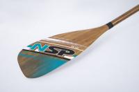 Paddleboard pádlo NSP Carbon Bamboo 2-dílné