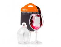 Sada skleniček GSI Nesting Red Wine Glass Set