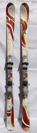 Použité lyže K2 Burnin Luv 156cm + vázání