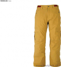 Kalhoty Flylow Stash žluté