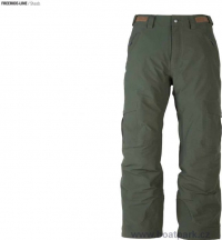 Kalhoty Flylow Stash zelené