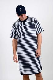 Námořnické pruh. pyžamo vel. XXXL