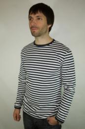 Námořnické pruh. tričko dlouhý rukáv