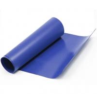 Servisní modrá PVC látka, metráž