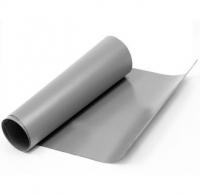 Servisní šedá PVC látka, metráž