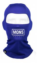 Kukla Mons Royale B3 Balaclava  S/M blue