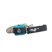 Skiffo Leash Coiled 8mm 10 stop