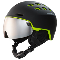 Helma Head Radar Black/Lime 19/20