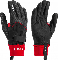 Leki Nordic Circuit Shark black-red