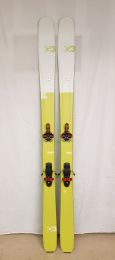 Použité lyže G3 Seekr 100 set + G3 Ion 12 + pásy G3