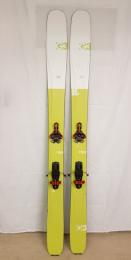 Použité lyže G3 Seekr 110 set+G3 Ion 12+G3 pásy