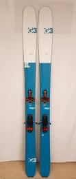 Použité dámské lyže G3 Seekr Elle 100 set 170cm + G3 Ion 12 + pásy G3