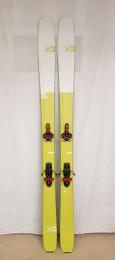 Použité lyže G3 Seekr 100 set 178cm + G3 Ion 12 + G3 pásy