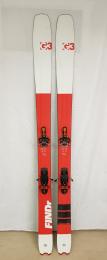 Použité lyže G3 Findr 94 set 172cm + G3 Ion 12 + G3 pásy