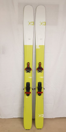 Použité lyže G3 Seekr 110 set 180cm + G3 Ion 12 + G3 pásy
