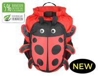 OB Kids Waterproof backpack 11L red